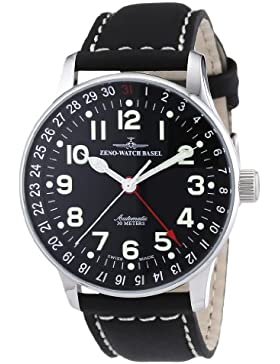 Zeno Watch Basel Herrenarmbanduhr Pilot XL p554Z-a1