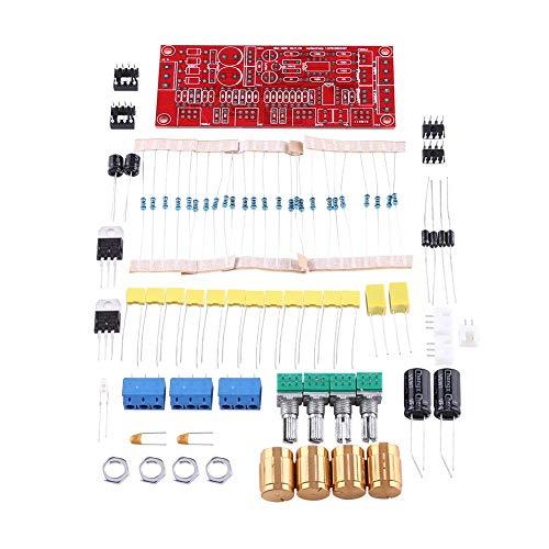 Amplifiers Board HIFI Enthusiast Ton Board NE5532 Preamp Board Verstärker Frontplatte Kits AC 12V (Teile (Lieferknopf))