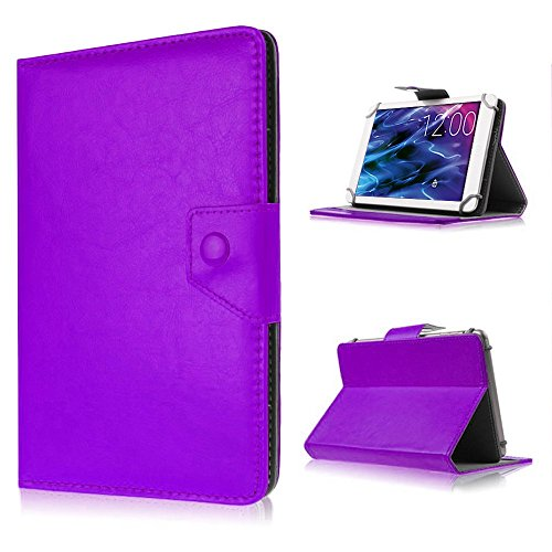 UC-Express Tablet-Schutz-Tasche-Hülle für Xoro TelePAD 9A1 Pro Case Cover Ständer Farbwahl, Farben:Lila