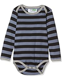 Phister & Philina Baby Boys' Hardy Ribby Langarmbody Bio-Baumwolle Bodysuit