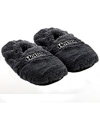 Original Hot Sox aufheizbare Pantoffel Hausschuhe Körnerpantoffel Wärmepantoffel Fußwärmer Pantoffel Wärmeschuhe Plüsch