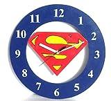 Art of East SUPERMAN Kids Wooden Wall Cl...