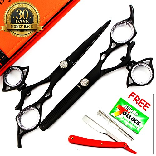 new-arrival-blue-avocado-scissors-thumb-swivel-professional-hairdressing-thinning-hair-cutting-sciss