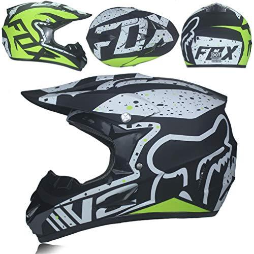Casco integrale da moto off-road, casco personalizzato da moto da uomo, caschi da motocross per mountain bike, cappucci 54-61cm