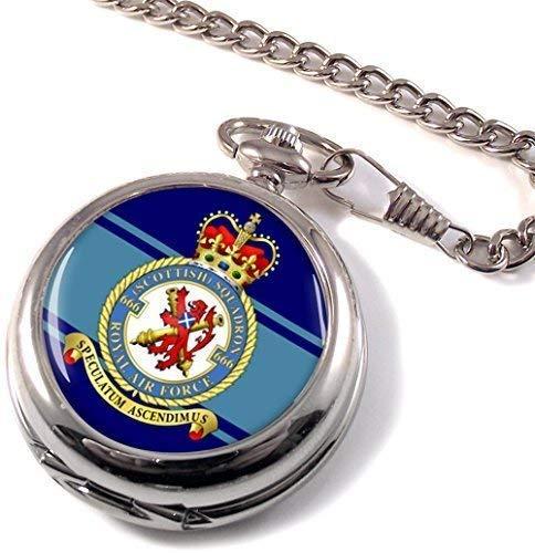 Numéro 666 Écossais Escadron Royal Air Force (Raf ) Poche Montre