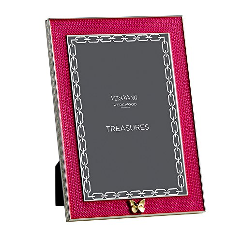 vera-wang-da-wedgwood-placcato-argento-with-love-treasures-farfalla-rosa-4x6-cornice-foto