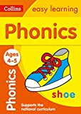 Phonics Ages 4-5: Collins Easy Learning (Collins Easy Learning Preschool)
