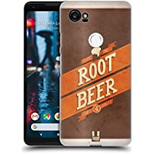Head Case Designs Root Beer Barattoli Vintage Cover Retro Rigida per Google Pixel 2 XL