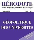 Géopolitique des universités