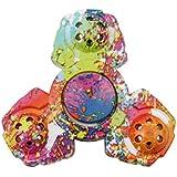 HENGSONG Fidget Toys Hand Tri Spinner Finger Spielzeug für Kinder und Erwachsene Spielzeug Geschenke, Bunt Motiv