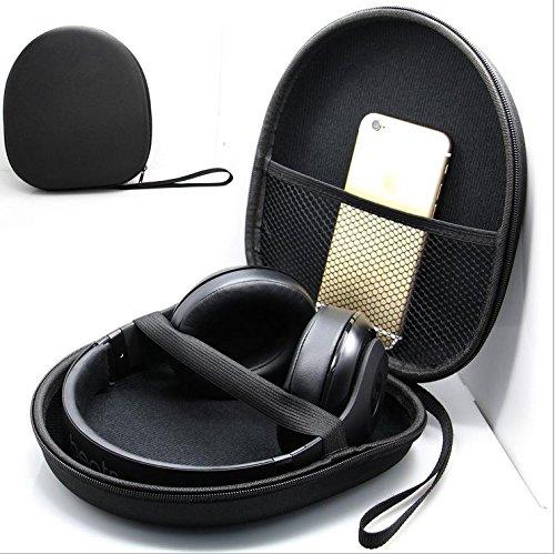 21x18.5x6cm Schutz Tasche Headset Kopfhörer Ohrhörer Schutzhüllen Case thumbnail