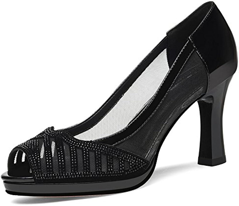 VIVIOO Sandalias De Mujer De Sandalias De Tacón Alto Zapatos De Tacón Alto Con Sandalias Sandalias De Mujer De... -