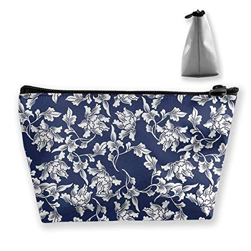 Blumenarrangement Botanic Foliage Kosmetik Make-up Tasche/Pouch/Clutch Reisetasche Organizer Aufbewahrungstasche für Frauen & iexcl; & macr; s
