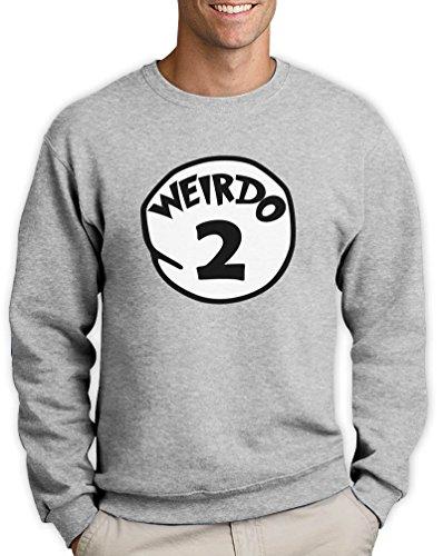 u XX-Large Sweatshirt (Passende Kostüme Für Zwei Beste Freunde)