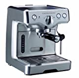 Gastroback 42609S Design Espresso Maschine Advanced S, 2.2 liters, Silber