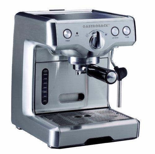 Gastroback 42609S Design Espresso Maschine Advanced S, 2.2 liters, Silber (Espresso-maschine Teile)