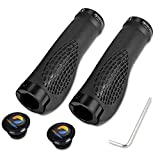 Best Mountain Bike Grips - TOPCABIN® Ergonomic Design Bicycle Handlebar Grips Widen Holding Review