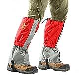 Butterme La coltre di neve / scarpa pioggia, impermeabile esterna Snowproof passeggio d'escursione delle guaine rampicanti Caccia neve Legging coprigambe Wraps