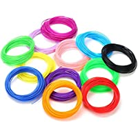 Creative Multicolored PLA Filament 1.75mm Thick 5 Meter length of Each Color for 3D Pen & Printer (5)