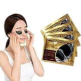 15 Pairs Anti Wrinkle Ageing Collagen Crystal Eye Mask, Feuchtigkeit spendende Anti Falten Augenmaske mit Hyaluronsäure und Collagen gegen Augenringe und Fältchen für Regeneration der Haut