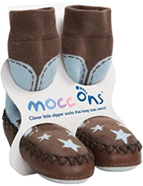 Funny Mocc Ons Cow Boy 12-18m