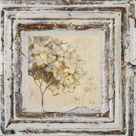 feelingathome. IT, Druck auf Leinwand 100% Baumwolle Galerie Blumen und Leaves Square VI cm 58x 58(Abmessungen personalisierbar auf Anfrage)