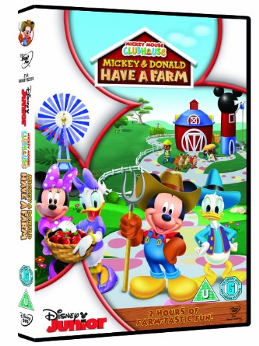 Image of Mickey Mouse Clubhouse - Mickey and Donald have a Farm [DVD]