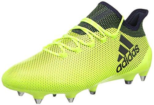adidas Herren X 17.1 SG Fußballschuhe, Mehrfarbig (Solar Yellow/Legend F17/legend Ink F17), 46 EU (Fußball-stollen Adidas)
