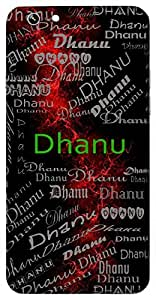 Dhanu (Man Of Wealth) Name & Sign Printed All over customize & Personalized!! Protective back cover for your Smart Phone : Samsung Galaxy J2 - PRO