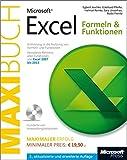 Microsoft Excel: Formeln & Funktionen - Das Maxibuch, Einführung in die Nutzung von Formeln und Funktionen. Für Excel 2007 bis Excel 2013