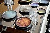 Cosmic Diner Porcelain Plate Ø Cm.16,5 H.2 – Neptune [A] - 3