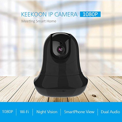Wireless 1080p telecamera di sicurezza wifi home surveillance telecamera ip pan/tilt audio a due vie e la visione notturna motion detection per il bambino/elder/pet/nanny monitor