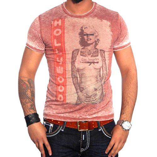 R-Neal Herren T-Shirt 6709 Rot