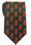 Retreez bolas de árbol de Navidad tejido de microfibra para hombre corbata–varios colores Verde verde Talla única