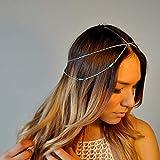 Yean - Cadena para el pelo estilo bohemio para mujeres y niñas