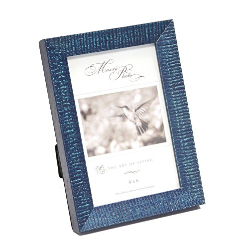 maxxi-designs-photo-frame-with-easel-back-8-x-10-blue-havana