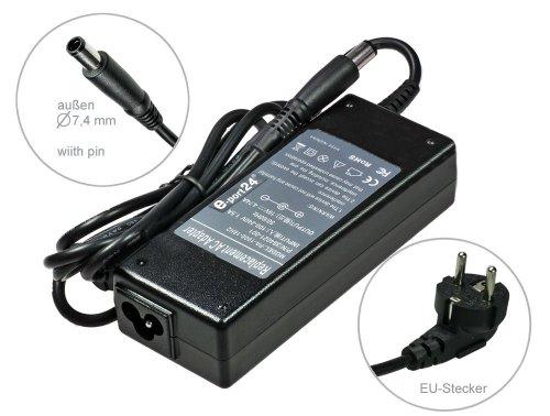 90W Notebook Netzteil AC Adapter Ladegerät für HP Compaq G61 HDX X16 16 2230s 6510b 6515b 6520s 6530s 6531s 6535s Presario CQ35 CQ45 CQ60 CQ61 CQ70 CQ71 kompatible mit 374791-001 384020-002. Mit Euro Stromkabel von e-port24® - Presario Cq60 Netzteil Compaq