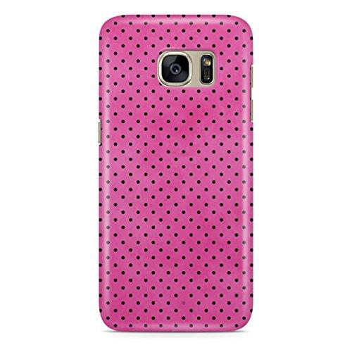 Queen Of Cases Coque pour Apple iPhone 5S Motif à pois Rose Vif-Premium en plastique rose