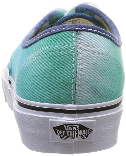 Vans U Authentic, Baskets Mode Mixte Adulte Vert (Navy/Turquoise)