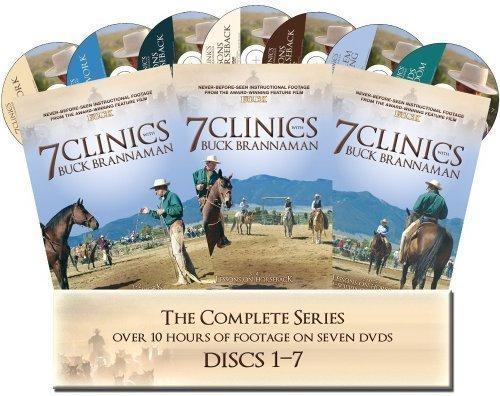 7-clinics-with-buck-brannaman-complete-set-1-7-by-buck-brannaman