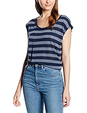 edc by Esprit - 046cc1k034 - Striped, T-shirt Donna
