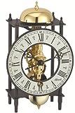 Hermle Cardiff 23001–000711alta calidad mecánica reloj de mesa con bobinado clave