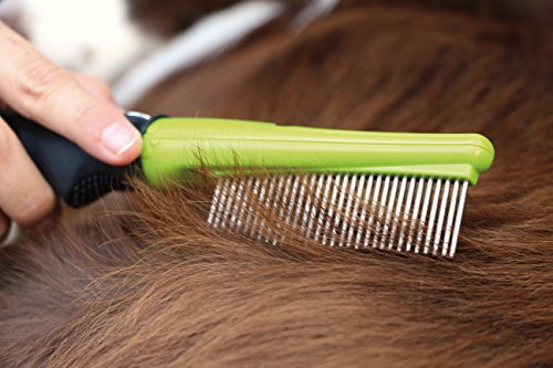 FURminator Dog Grooming Comb Head FURflex, Finishing Comb to Remove Tangles and Debris for All Dogs 4