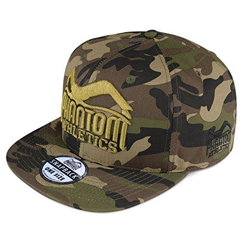 Phantom Athletics Caps - 20 Modelle - Neue Kollektion - Snapback Kappe Mütze Basecaps, Cap Team - Camo/Gold, one size -
