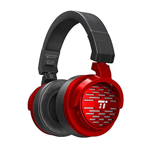 TaoTronics Bluetooth Kopfhörer Over Ear Headset 25 Stunden Spielzeit, Einstellbar mit CVC 6.0 Mikro, Zusammenklappbares Design mit on-Ear-Steuerung thumbnail