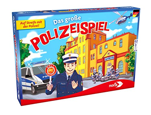 Noris 606011683 Das Große Polizeispiel
