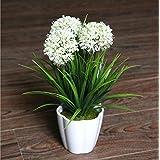 XICHEN® Planta Artificial en maceta, Hortensia–25cm