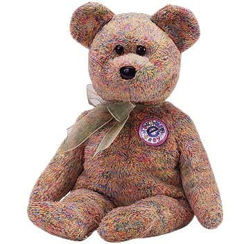 TY Beanie Baby - SPECKLES the e-Bear (Internet Exclusive) [Toy] (Baby Ty Bär Beanie)