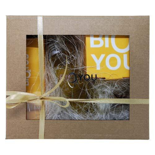 Coffret de Soin du Visage Yellow Bio2You - Huile, Crème Visage & Crème pour les Yeux