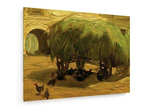 franz-marc-carro-de-heno-60x45-cm-weewado-impresiones-sobre-lienzo-muro-de-arte-antiguos-maestros